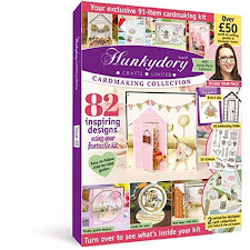 Hunkydory cardmaking magazine and kit just £4.99!