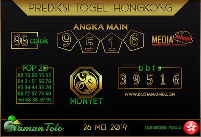 Prediksi Togel HONGKONG TAMAN TOTO 26 MEI 2019