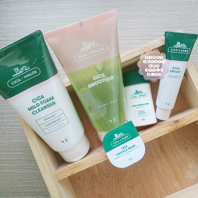 VT Cosmetics Cica Skincare! They Got A Cleanser, Smoother, Essence Sun Care, Mask, and Cream!