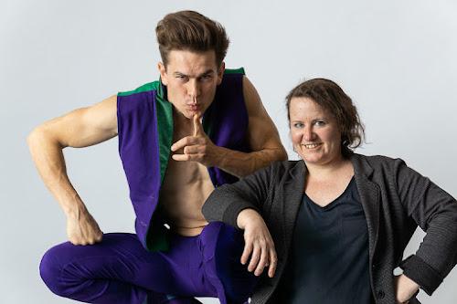 Sesión de fotos con el  acróbata, actor, bailarín Berlin John