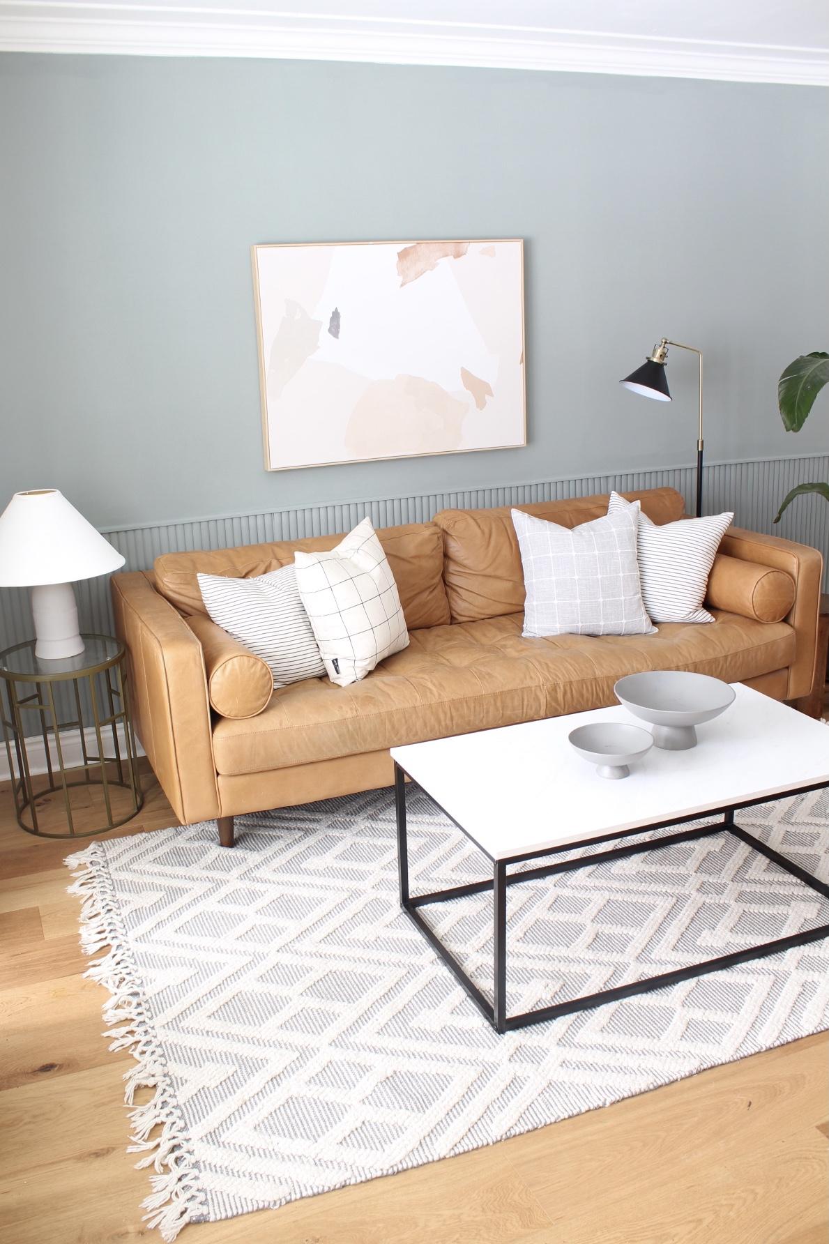 Modern Living Room Makeover