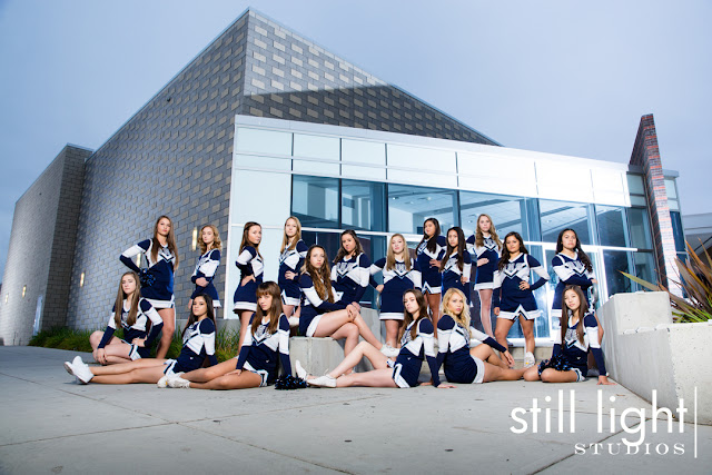 still light studios best sports school senior portrait photography bay area burlingame sacramento cheer team