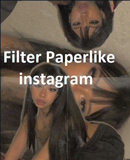 Paperlike Instagram filter, here's how to get them