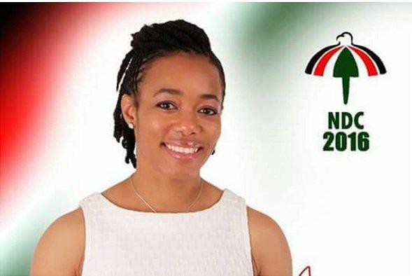 Dr. Zenator Agyeman-Rawlings won the Klottey Korle, she polled 2,403