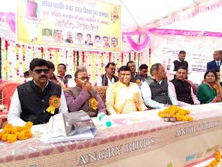 कलार समाज महासम्मेलन में शामिल हुए मंत्री रामकिशोर नानो कावरे