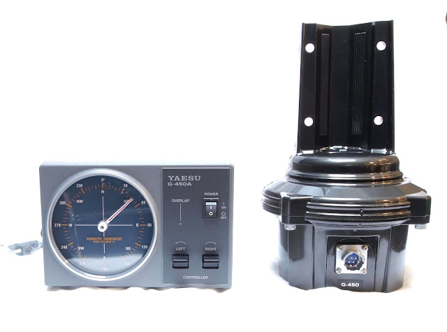 Антенное поворотное устройство YAESU G-450A идеально подходит для УКВ антенн и легких трайбэндеров обеспечивает автоматический плавный старт и остановку