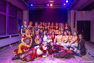 Danse orientale, tribale, Fusion