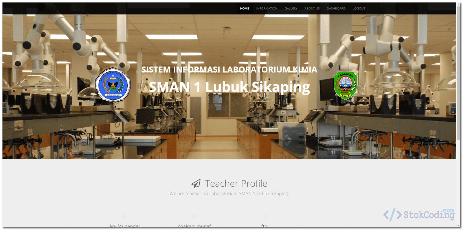 Aplikasi Management Laboratorium Berbasis Web (PHP)