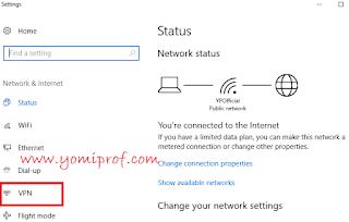 how to connect to windows inbuilt vpn