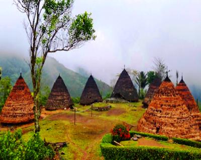 Rumah adat daerah Nusa Tenggara Timur adalah Rumah Musalak. Rumah itu berbentuk panggung dan di bawahnya terdapat balai panjang tempat menerima tamu. Tiang-tiangnya berdiri pada landasan batu besar, sehingga tidak perlu di tanam dalam tanah