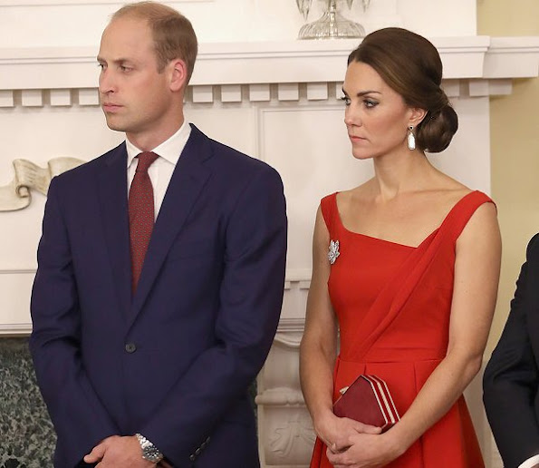Duchess Catherine Amp Prince William Attend A Reception