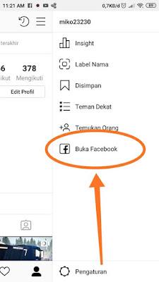 Cara Menghubungkan Instagram ke akun Facebook