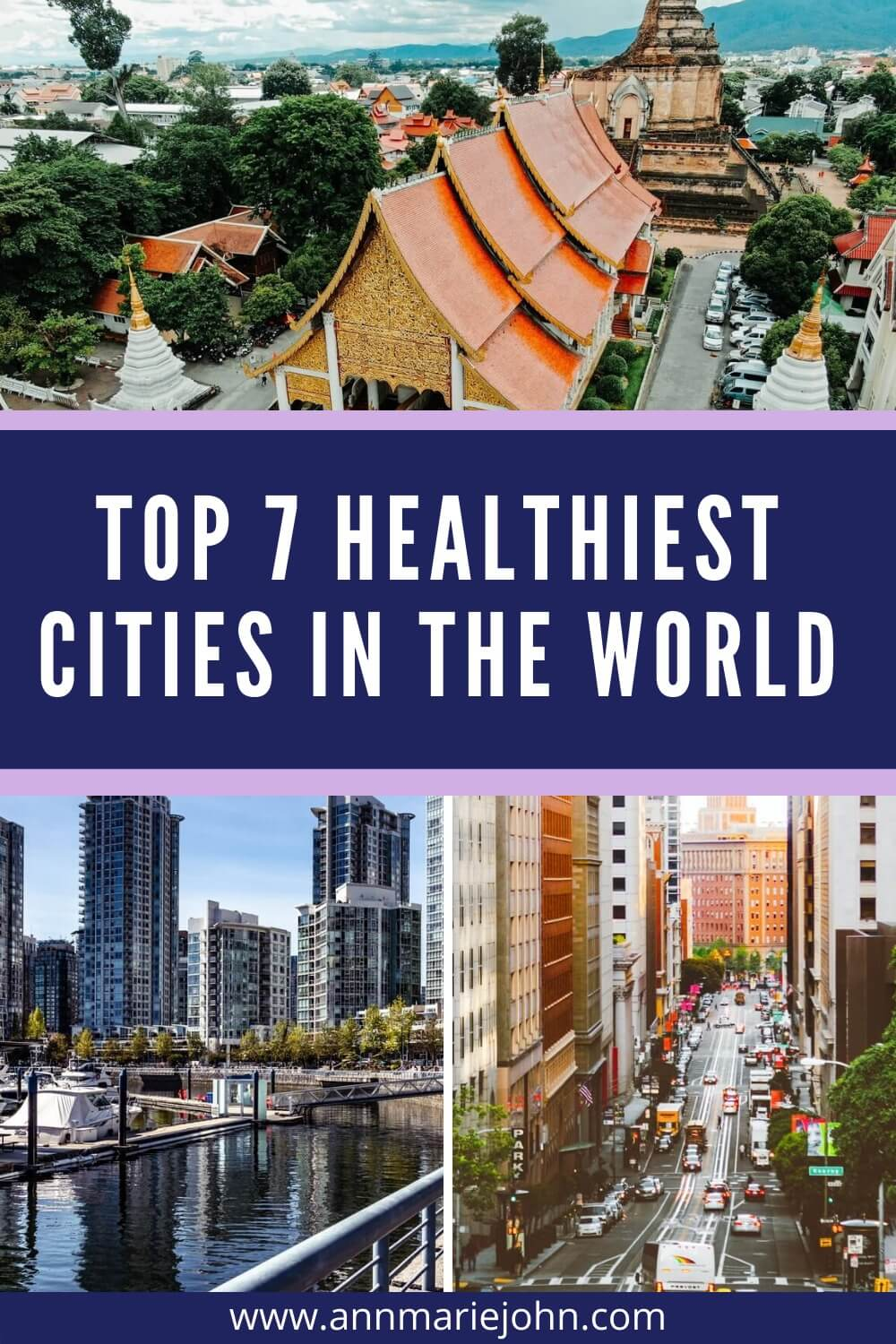 Top 7 Healthiest Cities in the World