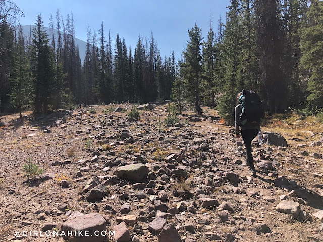 Backpacking to Hell Hole Lake & A-1 Peak, High Uintas