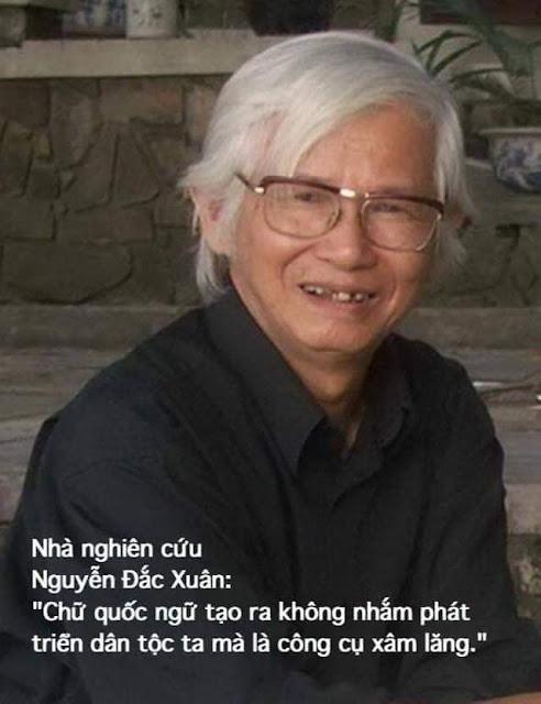 Nhà nghiên cứu Nguyễn Đắc Xuân - Ngu mà ưa nói chữ?