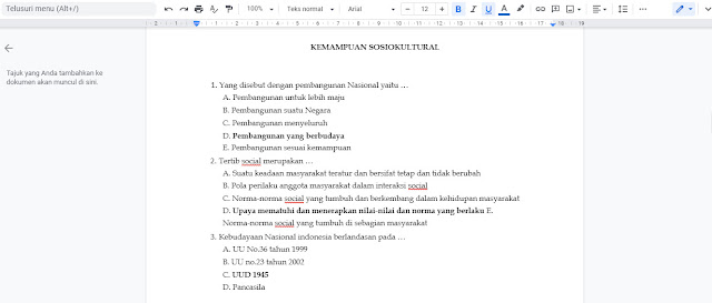 Lengkap Soal & Kunci Jawaban PPPK Kemampuan Integritas dan Sosio Kultural
