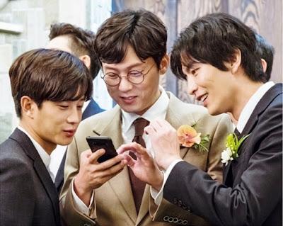 Para pemain laki-laki dalam drama korean Because This Is My First Life adalah Lee Min Ki, Park Byung Eun, Kim Min Suk