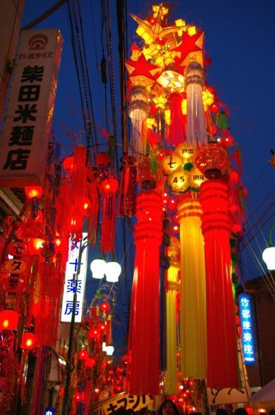 Tanabata Matsuri (Festival of the Weaver), Takaoka City, Toyama Pref.