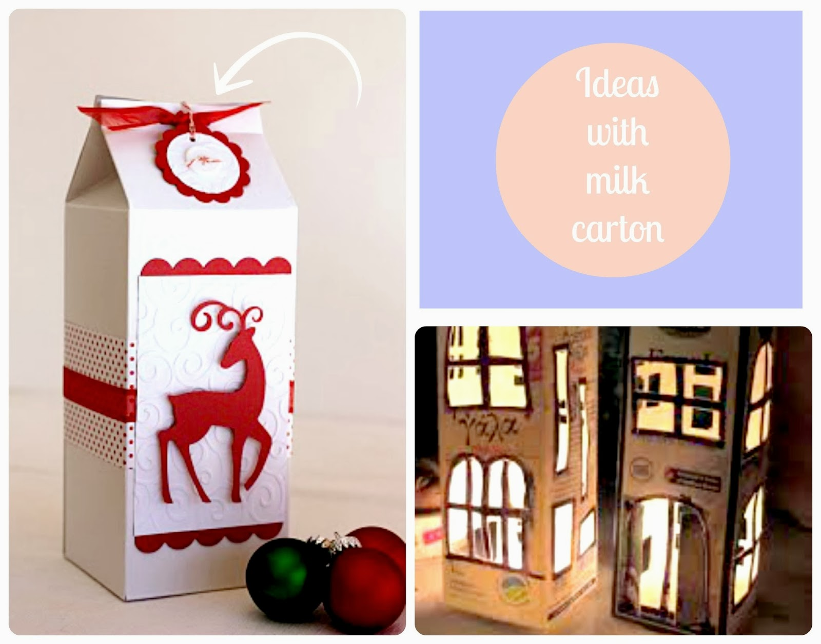 carton milk ideas diy
