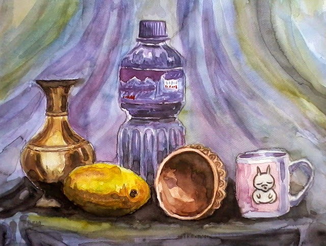 My First Still Life Painting