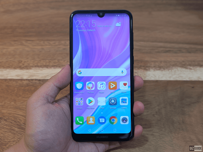 6.26-inch notch screen