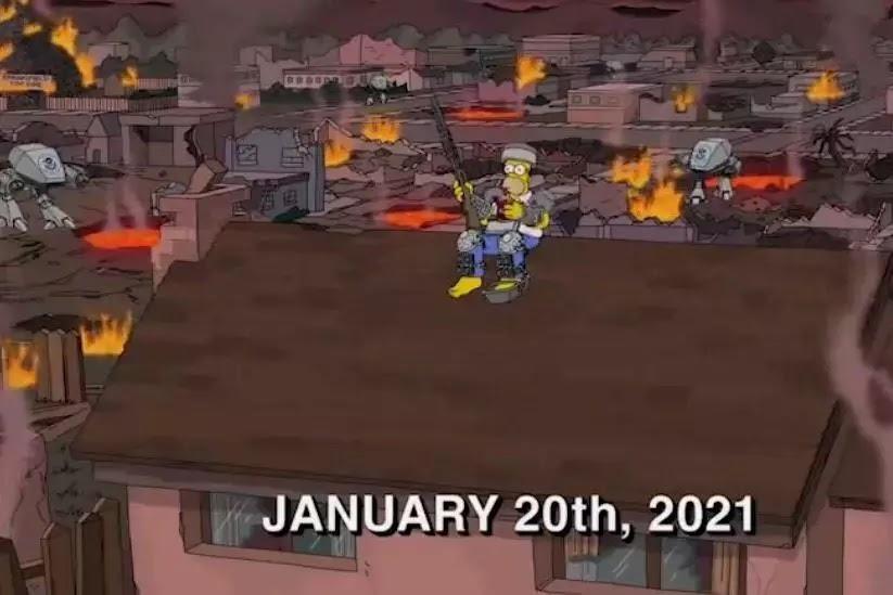 'Os Simpsons' previu a explosão em Madri? Data precisa em episódio repercute