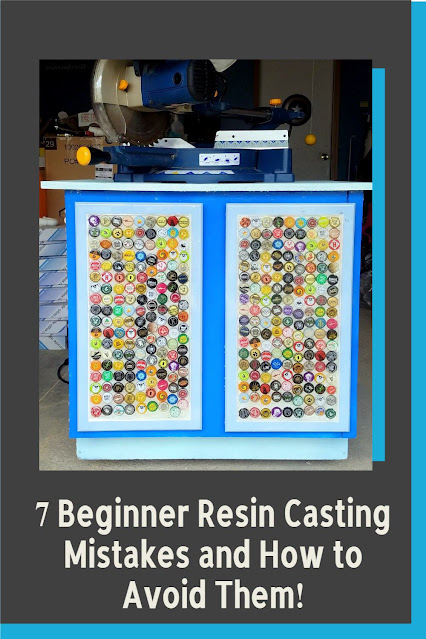 how to avoid resin casting, bubbles, and mistakes