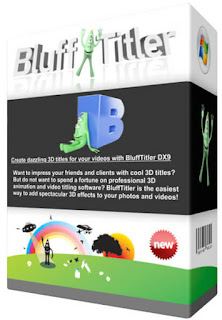 BluffTitler Ultimate - Create 3D titles and effects for videos with this intuitive and feature-rich application.