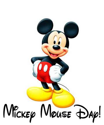 Mickey Mouse's Birthday Wishes Images
