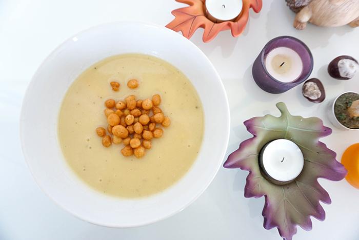 Pastinaken-Kartoffel-Suppe