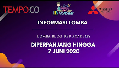 Lomba Blog Mei 2020: DBP Academy x Tempo Blogger Writing Competition, Lomba Blog, Lomba Nulis Artikel, Artikel Blog, Mobil Mitsubishi Terbaru, Mitsubishi Xpander 2020