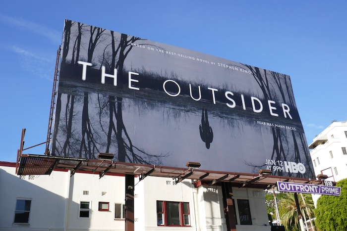 Outsider series premiere billboard