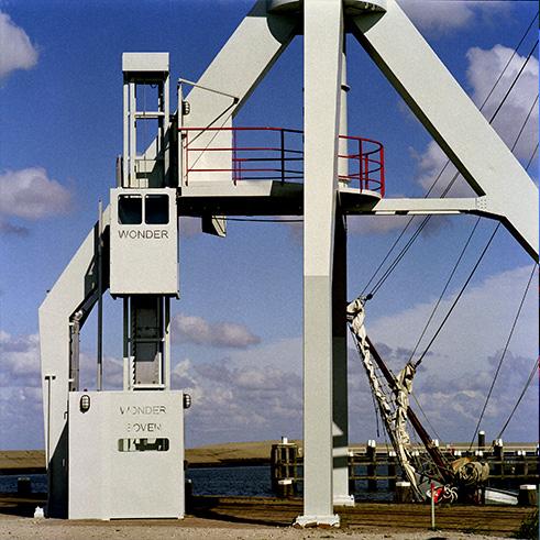 Unusual crane hotel Crane Hotel in Holland