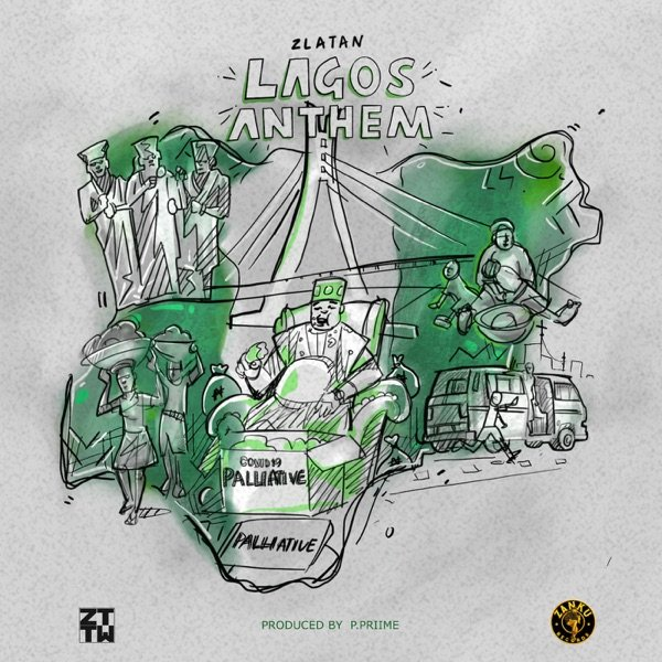Music: Zlatan – Lagos Anthem (Money No Dey Lagos)