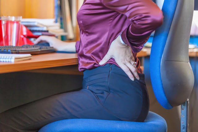 Lower back pain - back pain - 1