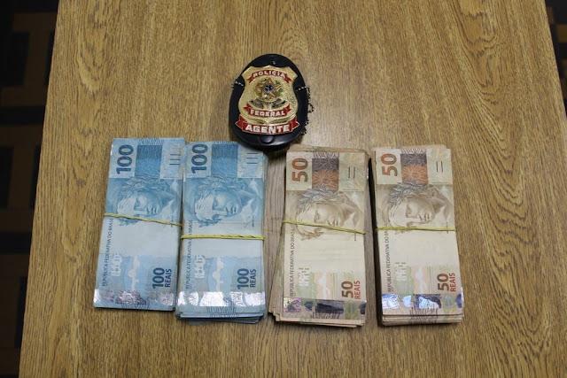 Homem é detido com R$ 22 mil em abordagem na BR-425 em Guajará-Mirim