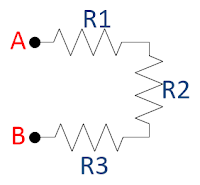 series resistors illustration