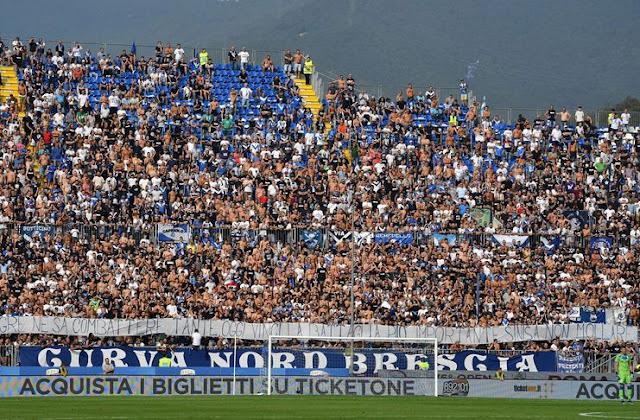 Ultras bad doing for Brescia Sentenced by FIGC