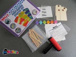 kit gelli art per creare tag