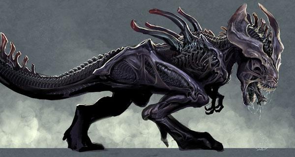 presentamos al xenomorforex el alien de la era jur225sica