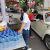 AQUA Hadirkan Produk Gratis di Sentra Vaksinasi Covid Candi Prambanan