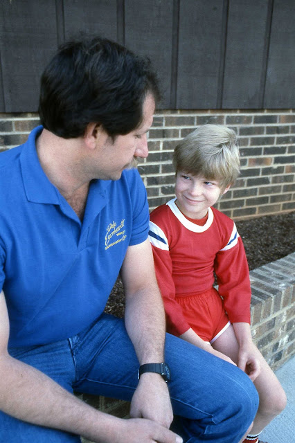 The Dales: Dale Earnhardt Jr. in 1984 with his father Legendary Dale Sr.