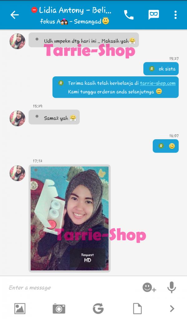 Testimoni Customer Tarrie Shop