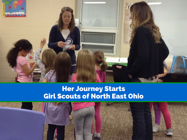 Her Journey with @GSNEO Starts #GirlScoutsRock