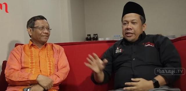 Sebut Eks Ketua MK Tak Paham Cara Kerja Negara Demokrasi, Fahri Hamzah Sindir Mahfud MD?