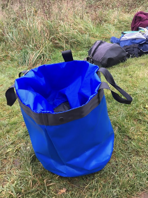 Rescued from Landfill Basecamp 70 Bucket Bag