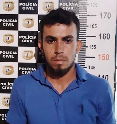 Policia prende homem que bateu em homem em Lima Campos