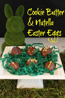 nutella, cookie butter, Easter, Eggs