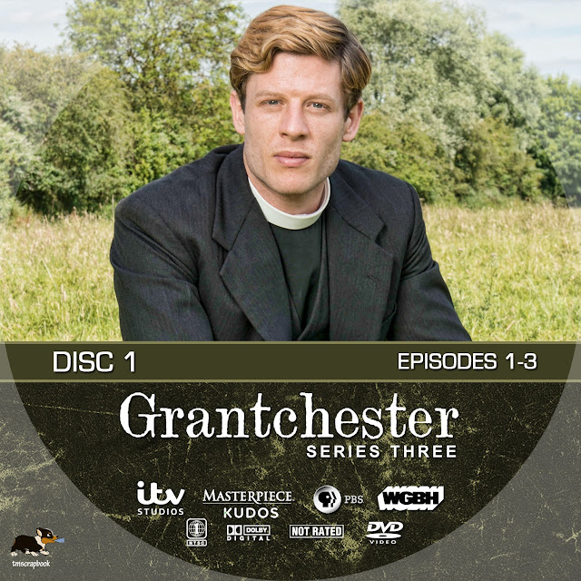 Grandchester Season 3 Disc 1 DVD Label