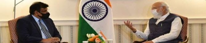 PM Modi Meets General Atomics CEO In US, Discusses Boosting India's Strides In Drone Technology